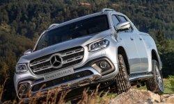 Новый Mercedes X-Class 2020: фото и цена, характеристики пикапа