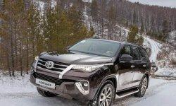 Новая Toyota Fortuner 2020: фото и цена, характеристики внедорожника