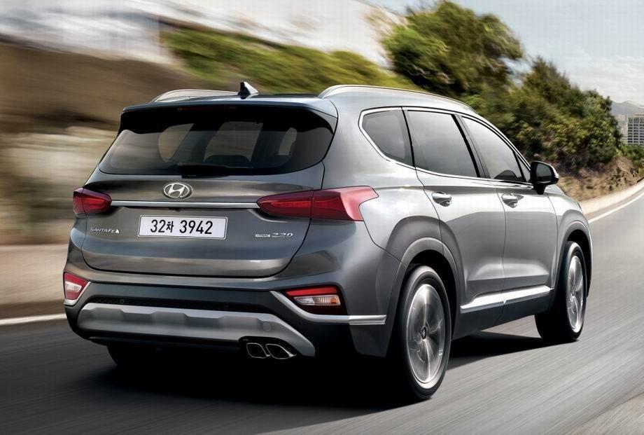 Hyundai Santa Fe 2020 года