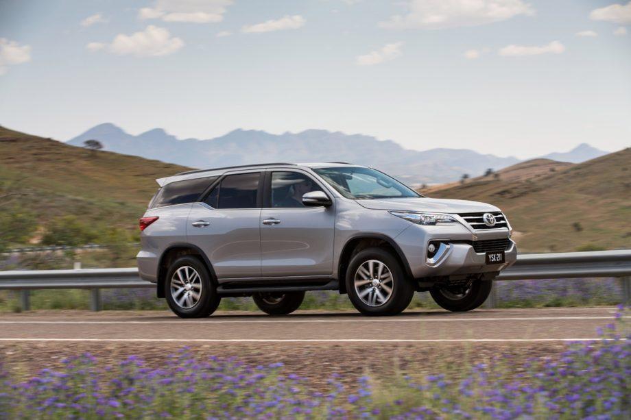 Новый Toyota Fortuner 2019 года