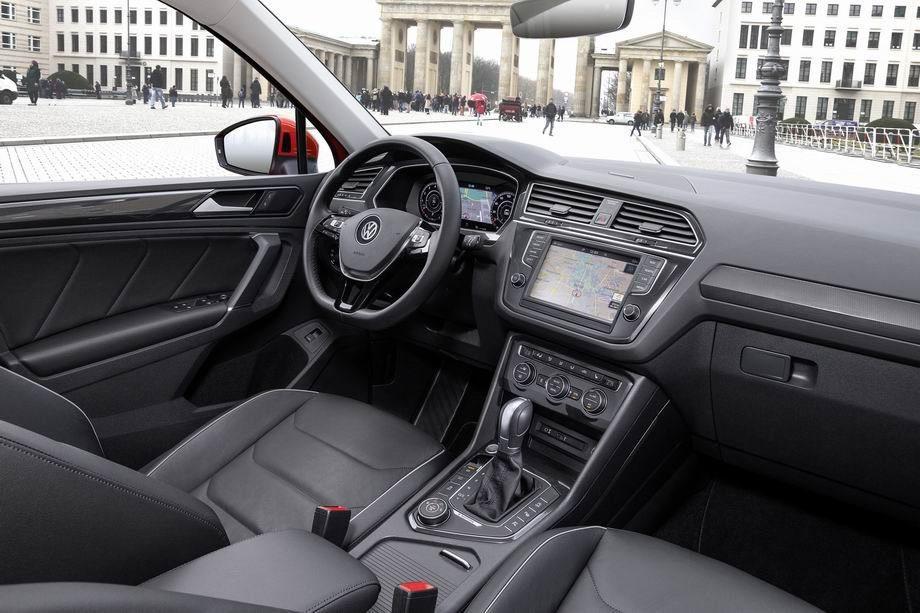 Салон VW Tiguan 2