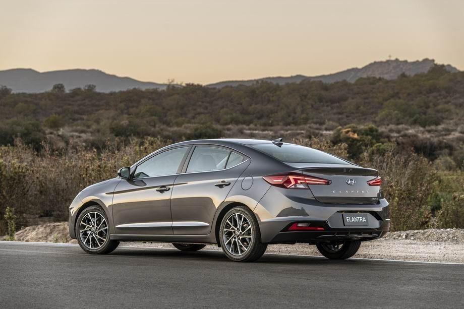 Новый кузов Hyundai Elantra 2020 года