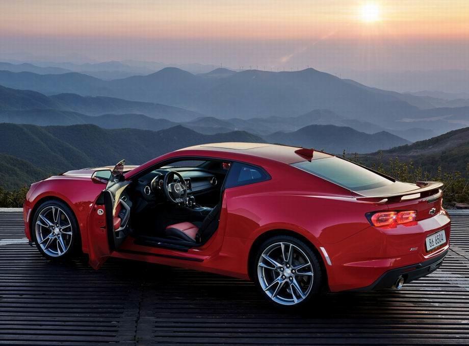 Новый Chevrolet Camaro 2020