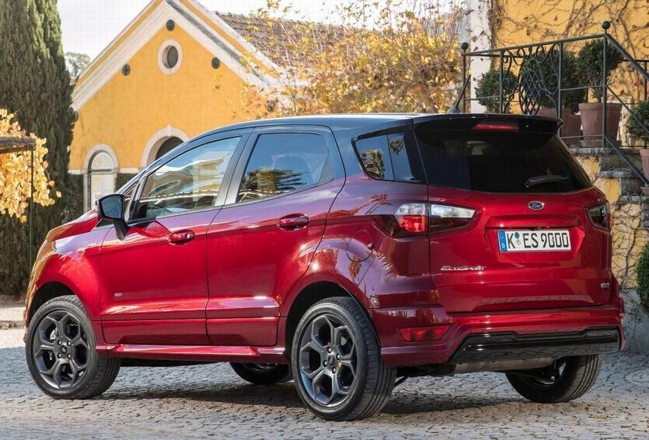 Новый Ford Ecosprt 2019
