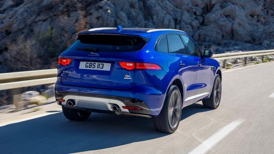 Новый Jaguar F-Pace 2019