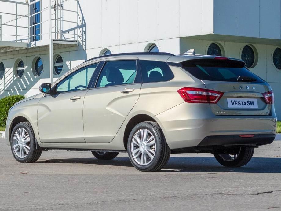 Новая Lada Vesta SW 2019