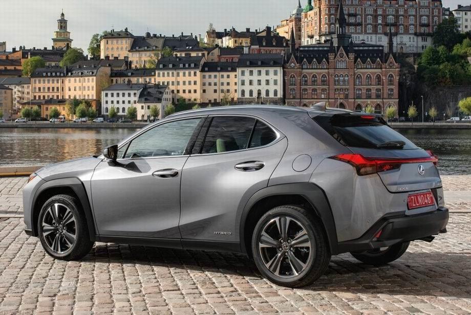 Новый Lexus UX 2019