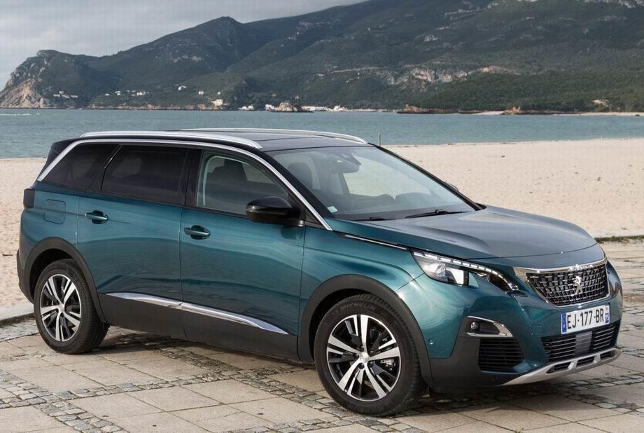Новый Peugeot 5008 2019