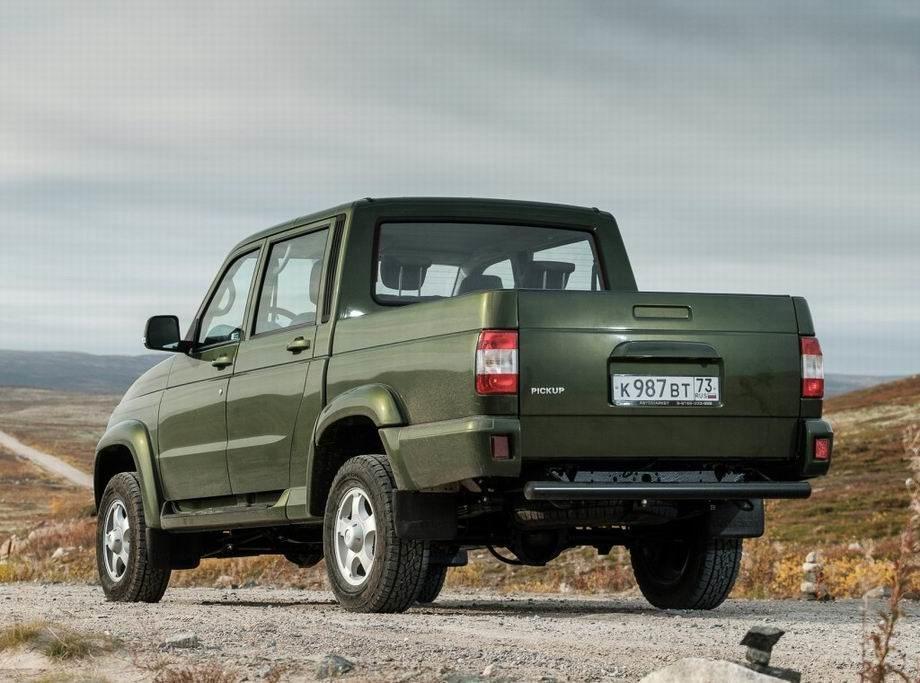 Новый UAZ Pickup 2019