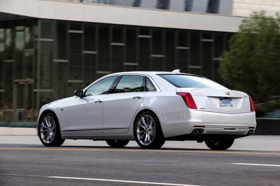 Новый Cadillac CT6 2019