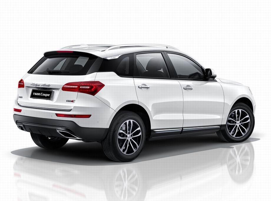 Новый Zotye T600 Coupe 2019