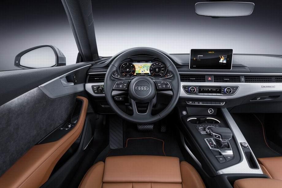 Салон Ауди А5 Coupe