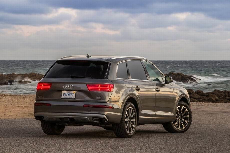 Audi Q7 2019 года