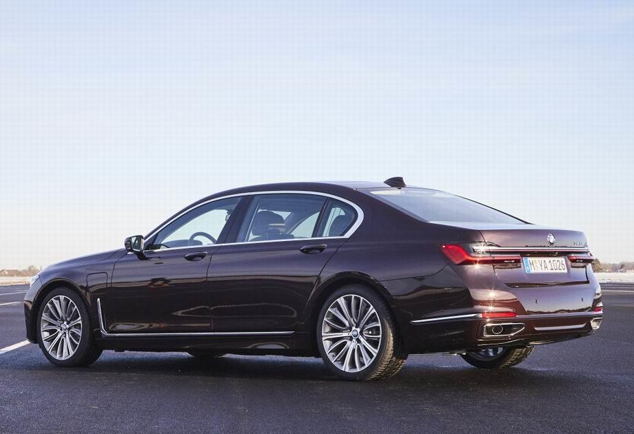 BMW 7-Series 2019 года