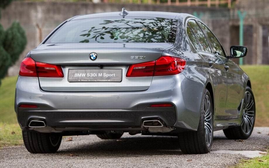 BMW 5-series 2020 года