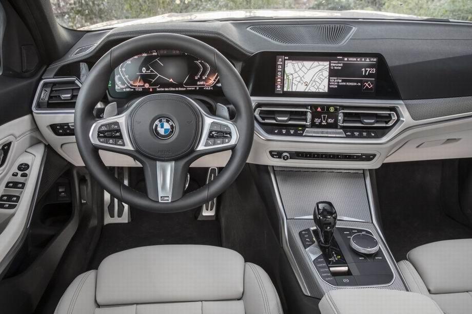 Салон BMW 3-серии G20