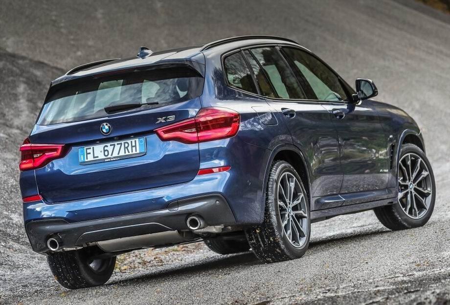 Новый BMW X3 2019