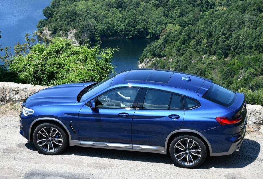 Новый BMW X4 2020