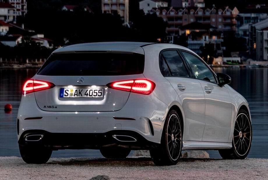 Mercedes A-Class 2019 года