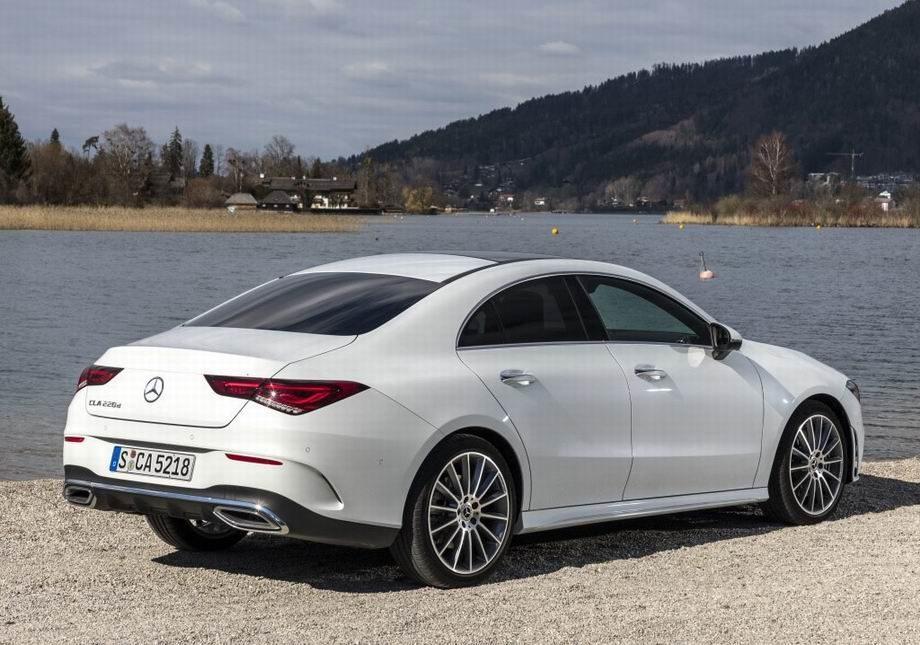 Mercedes CLA 2020 года