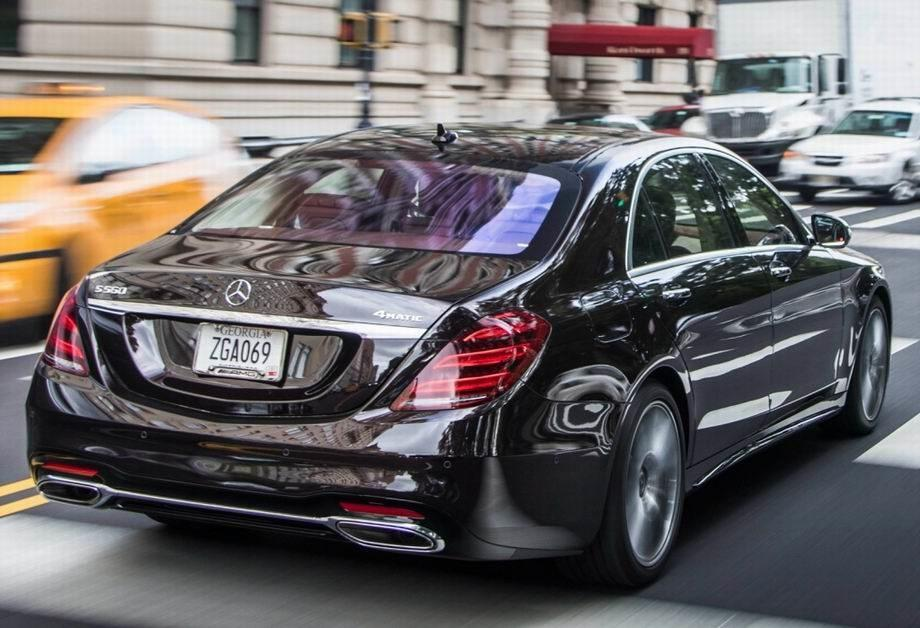 Mercedes S-Class 2020 года