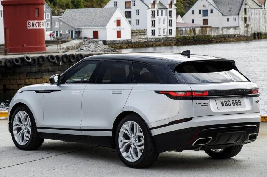 Range Rover Velar 2019 года