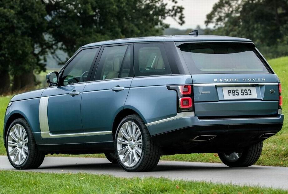 Range Rover Vogue 2019 года