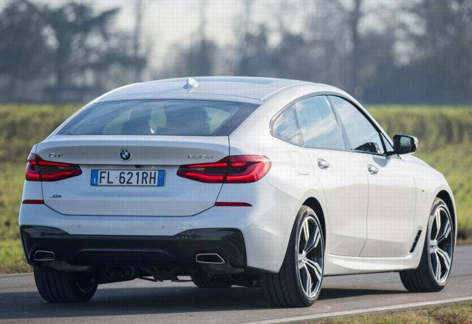 BMW 6-series GT 2019 года