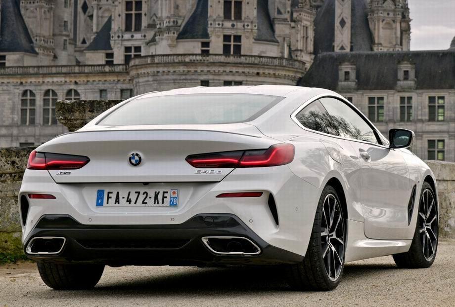 BMW 8-Series 2019 года