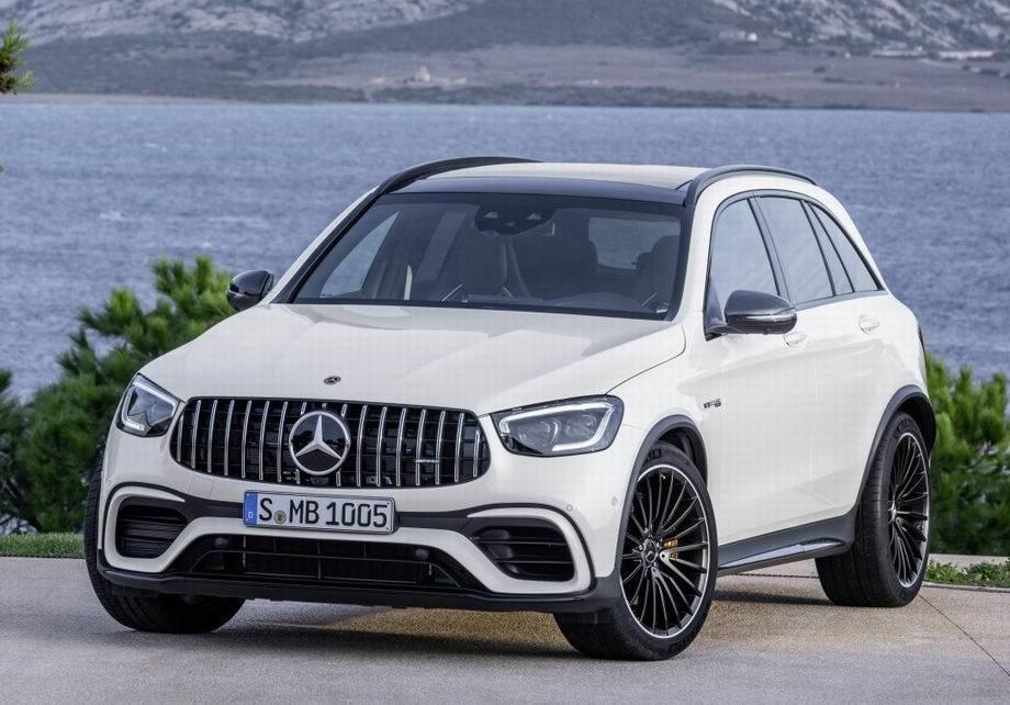 Новый Mercedes-AMG GLC 63 2019