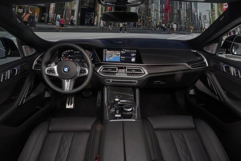 Салон BMW X6 (G06)