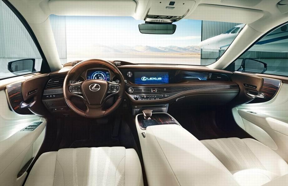 Салон Lexus LS 2021
