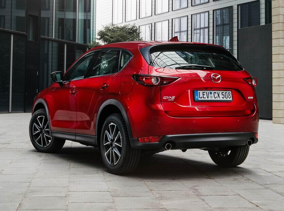 Mazda CX-5 2020 в новом кузове
