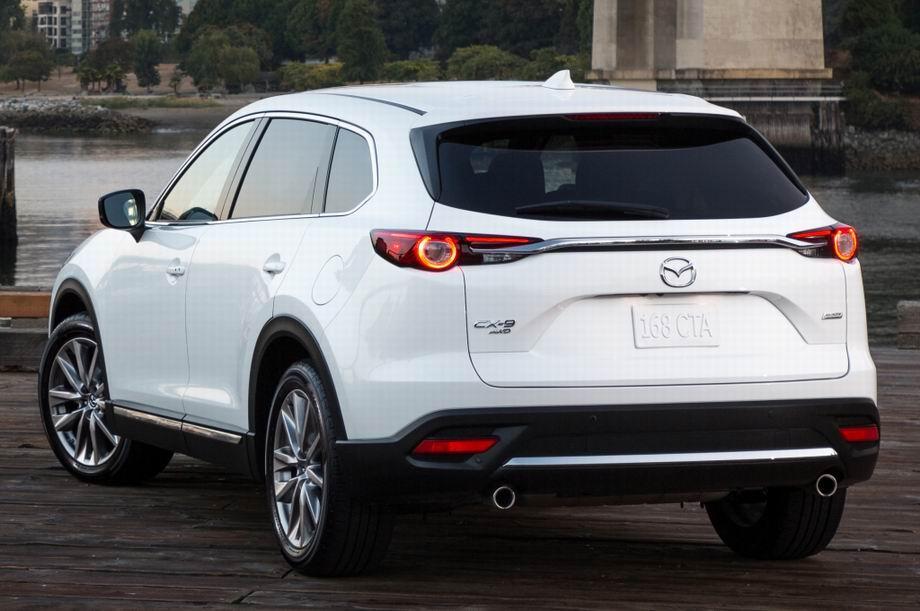 Mazda CX-9 2021 в новом кузове