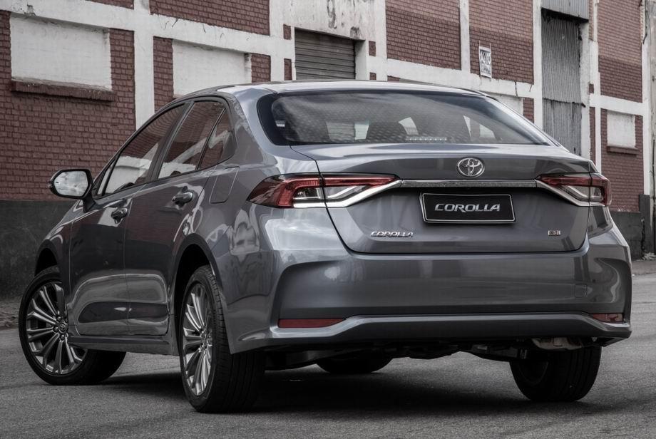 Toyota Corolla 2020 года