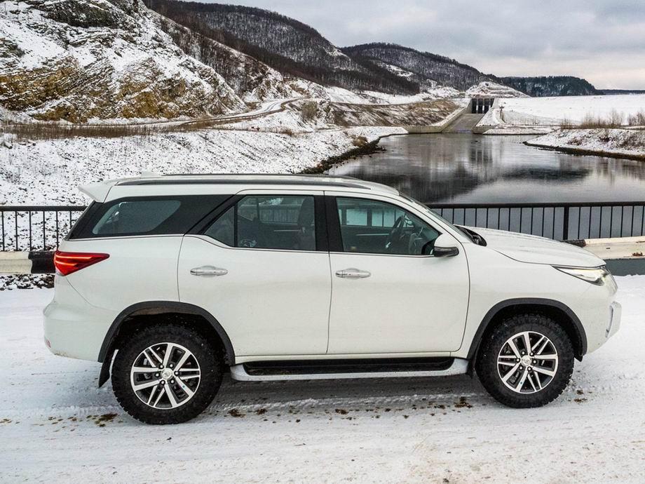 Тойота Фортунер 2020 в новом кузове