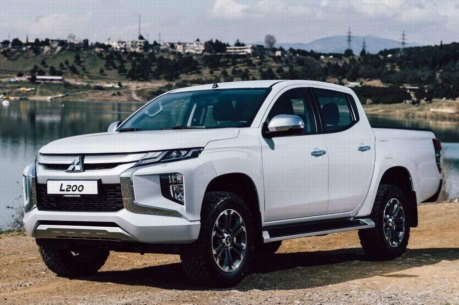 Новый кузов Мицубиси Л200 2021 года