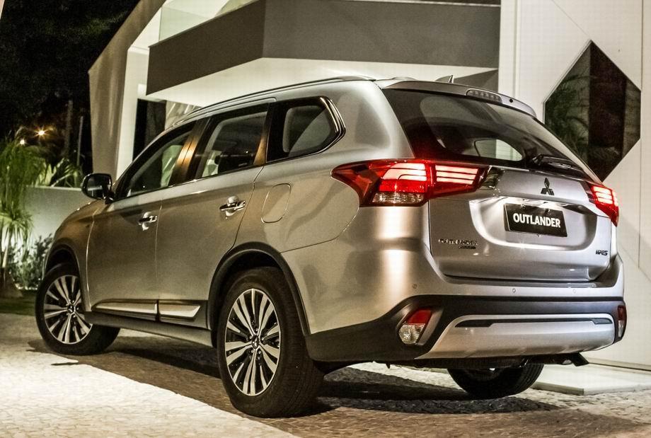 Новый Mitsubishi Outlander 2020 года