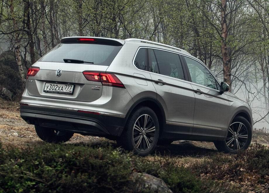 Новый кузов Volkswagen Tiguan 2020