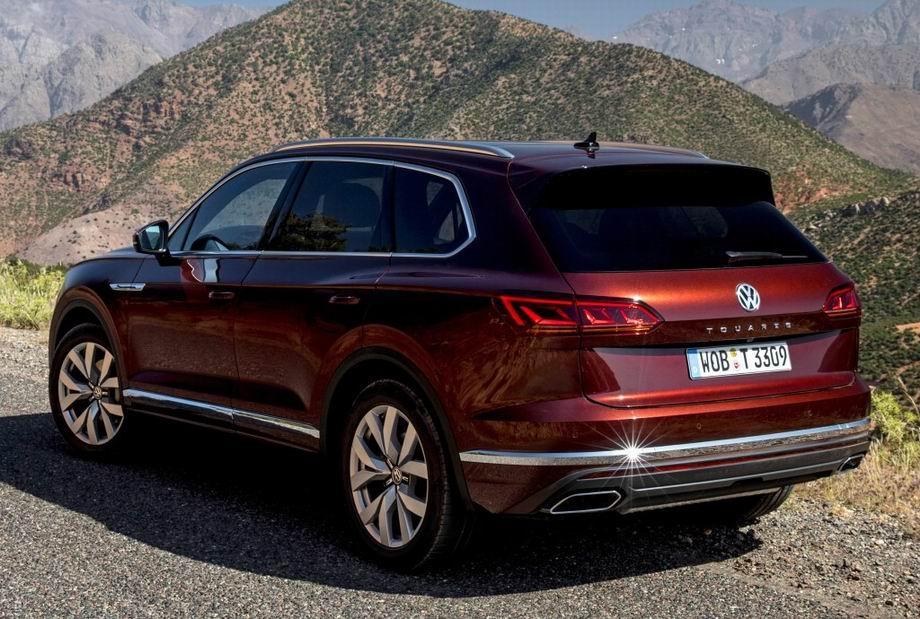 Новый Volkswagen Touareg 2021 года