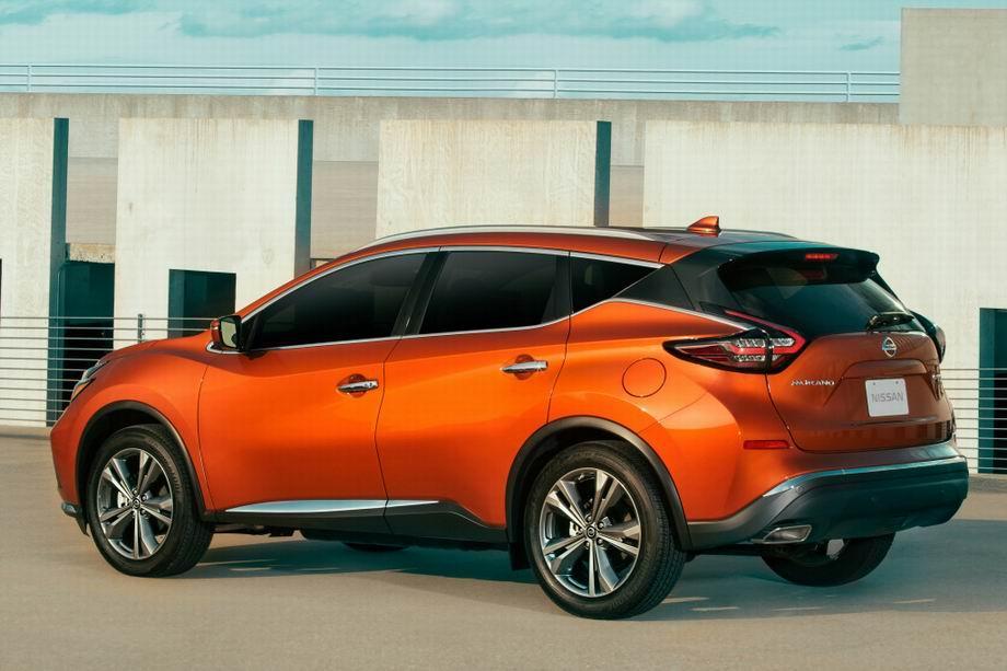 Nissan Murano 2020 года
