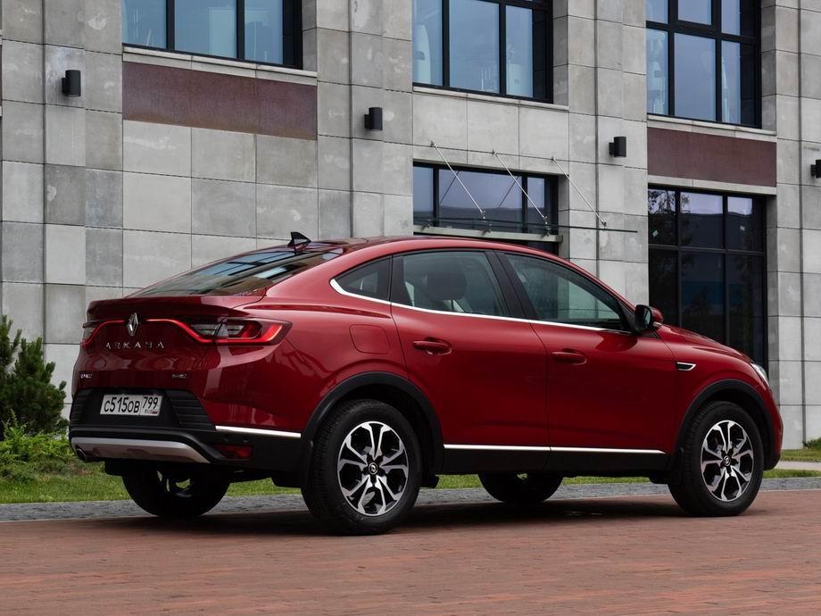 Renault Arkana 2021 года