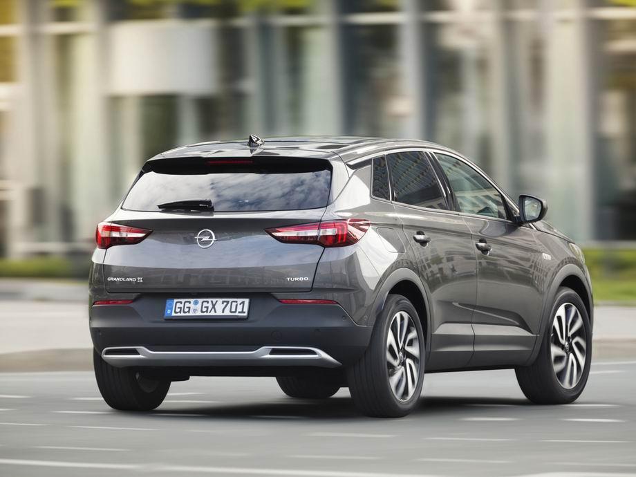 Новый кузов Opel Grandland X 2020
