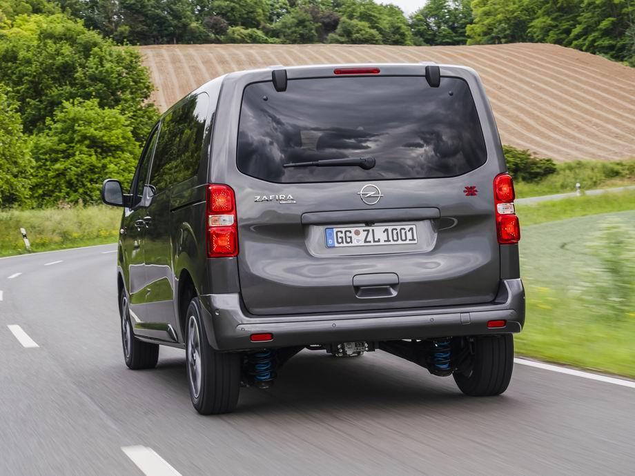 Opel Zafira Life 2020 в новом кузове