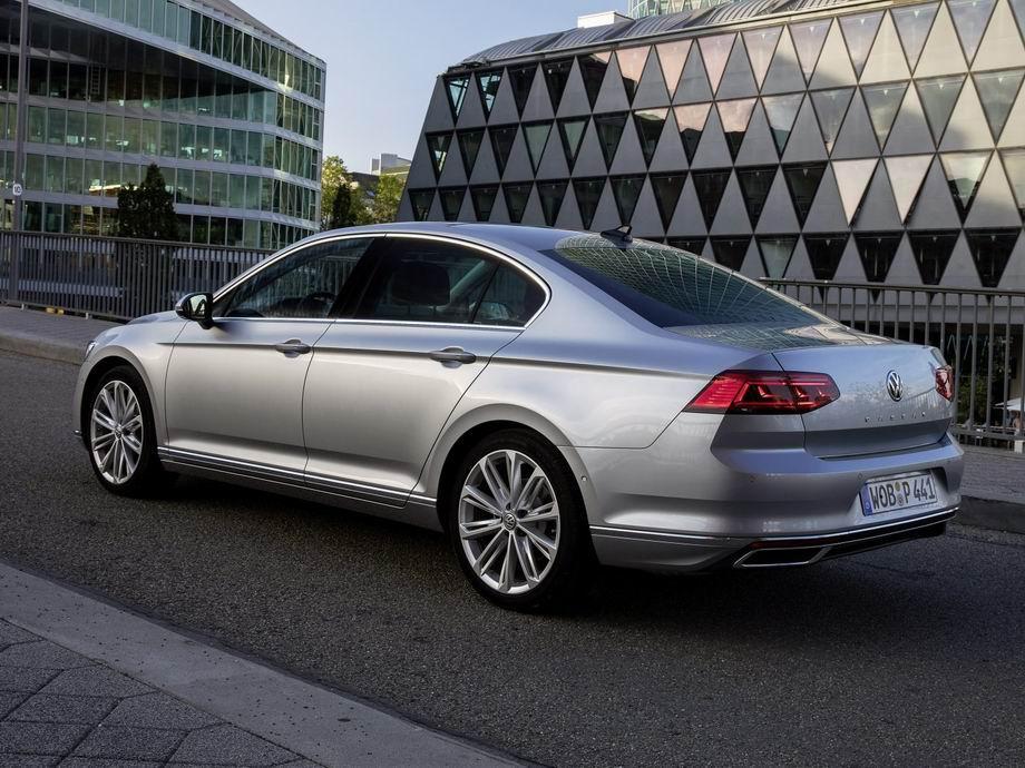 Volkswagen Passat 2020 года