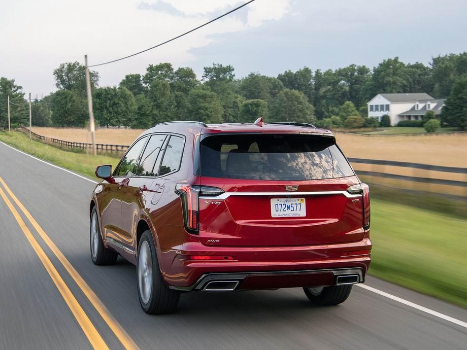 Новый Cadillac XT6 2020