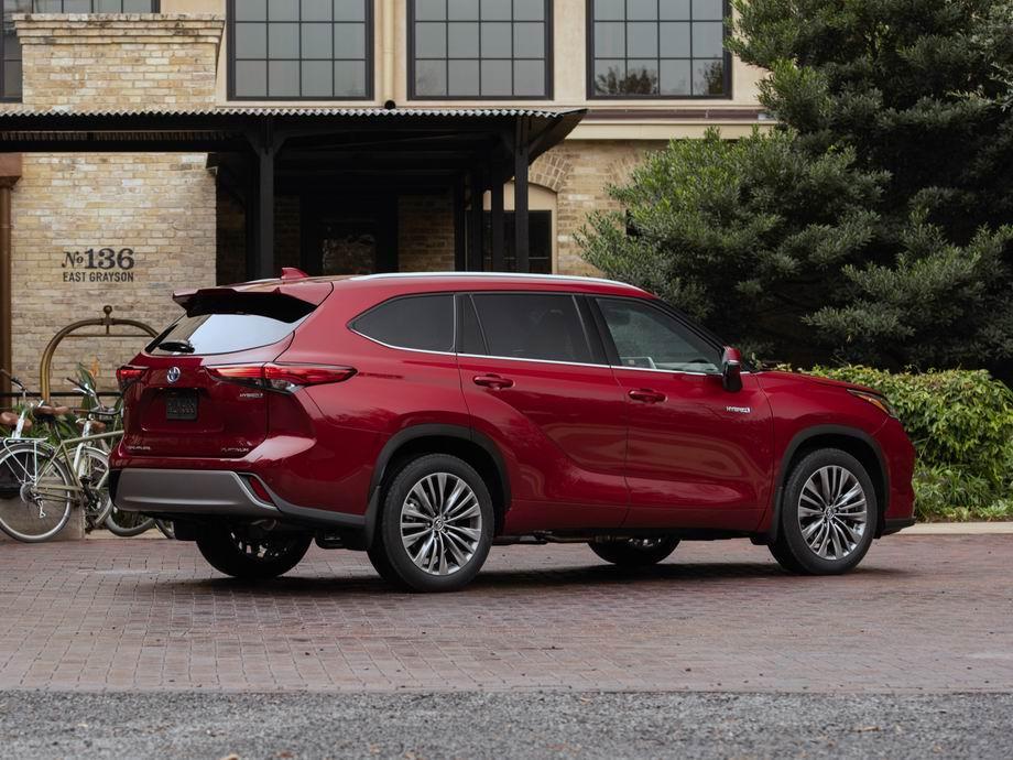 Новый Toyota Highlander 2020 года