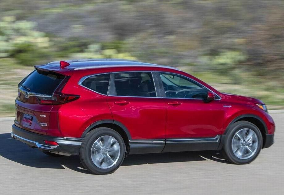 Honda CR-V 2021 в новом кузове