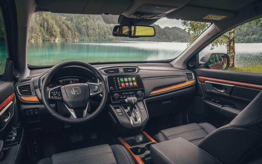 Салон Хонда CR-V 2021