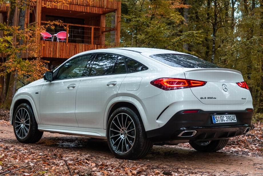 Новый Mercedes-Benz GLE Coupe 2021